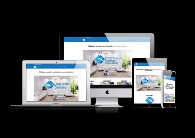 Site web chauffage- climatisation
