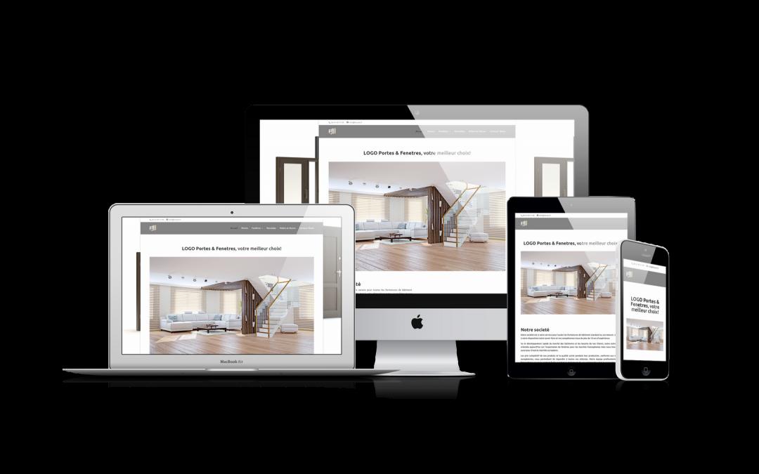 Site web portes & fenêtres