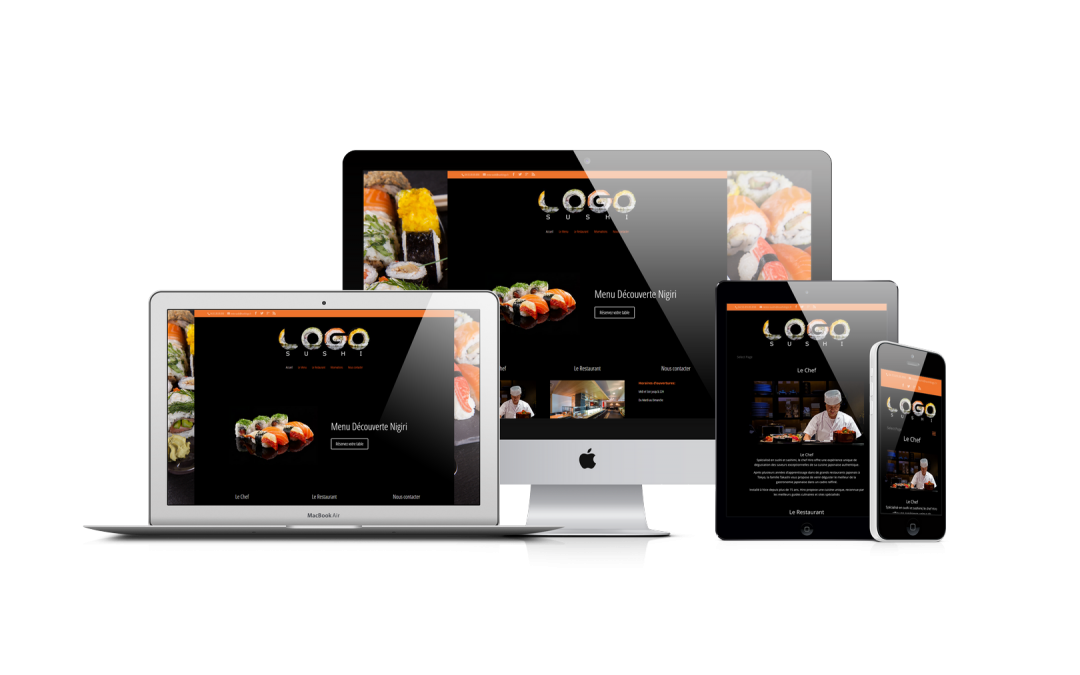 Pack Performance Site web restaurant
