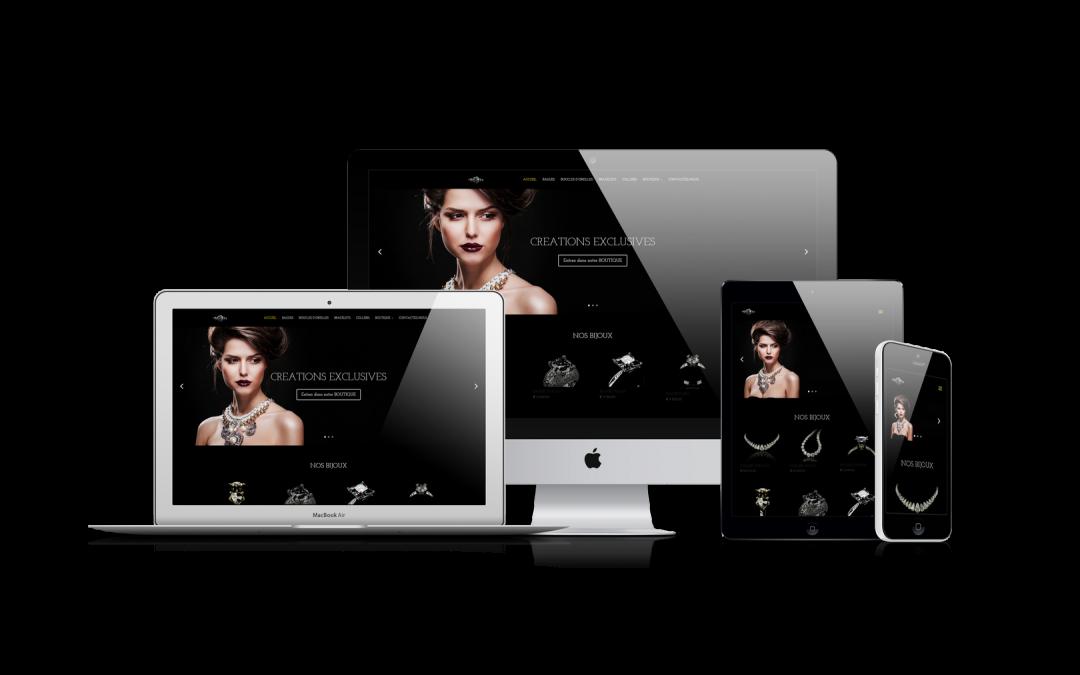 Site web bijoux