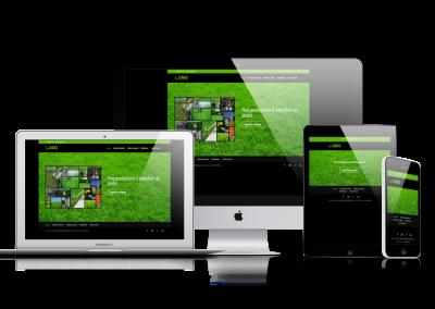 Site web jardinier