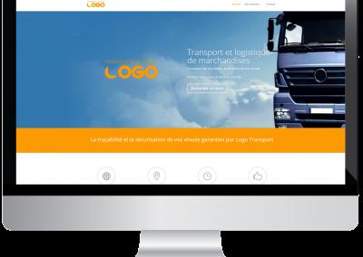 Site Web Entreprise de transport