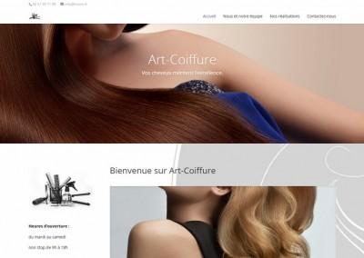 Site internet coiffeur